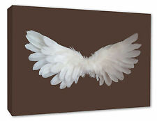 Angel Wings Wall Picture Brown Angel Wall Decor Canvas Print A1/A2/A3