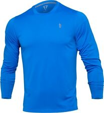 Title Boxing Mens Long Sleeve Tee Shirt Gym Workout Gear