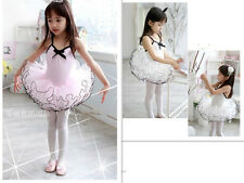 NEW Girls Fairy   Dance Dress Ballet Tutu Leotard Size  SZ 3-8y  A008