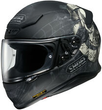 Shoei RF-1200 Full-Face Motorcycle Helmet - BRIGAND TC-5 Black/Silver XS-2XL