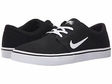 NIKE SB PORTMORE CANVAS 2016 BLACK WHITE MENS SKATE SHOES ** FREE POST AUSTRALIA