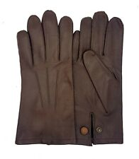 Men's Officers Unlined Leather Gloves - New