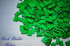 NEW! Green 1x2 LEGO BRICK pick lot size 10 or 100 Legos 3004 Bulk Parts pieces