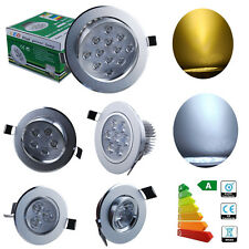 1/10x 1W 3W 5W 7W 12W Recessed LED Ceiling Down Light Spotlight Fixture Kit AU