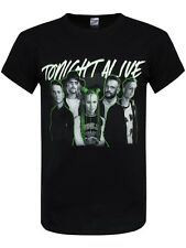 Tonight Alive Band Picture Men's Black T-shirt