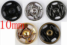 36sets Metal Snap Press Button Sewing on 10mm J0709