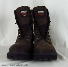 """NEW Mens Timberland PRO Series Direct Attach 8"""" Dark Brown Size 13m Work Boots"""