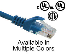 5x RJ45 Patch Cord 2 FT CAT5E Snagless Boot Network Ethernet Cable PC5P-