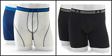 NEW Adidas Climalite Athletic Stretch Boxer Briefs 2-pack Men's Underwear