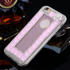 New Handmade Bling Diamond Glitter Crystal Clear Case Cover For iphone 6S 6 Plus