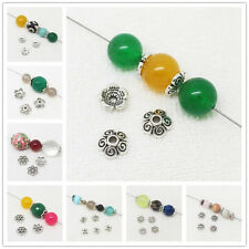 100pcs Tibet Silver Flower spacer Beads,For DIY Jewelry making !