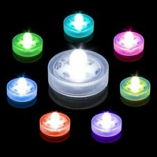 NEW 12 x Vase Lights LED Submersible Waterproof Bright Under Water Wedding Party
