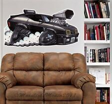 Mad Max Interceptor Car WALL GRAPHIC DECAL MAN CAVE BAR KIDS ROOM 9226 DECOR