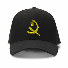 Angola Flag Seal Embroidery Embroidered Adjustable Hat Baseball Cap