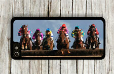 HORSE STEEPLECHASE RACING CASE FOR iPHONE 4 5 5C 6 -uhg6Z