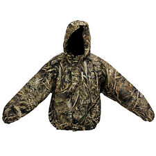 Realtree Camo Max 5 Hunting Rain Suit Gear Pants & Jacket Set Great for Hunters