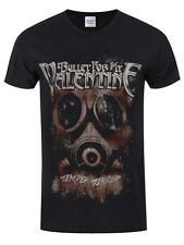 Bullet for My Valentine Temper Gasmask Men's Black BFMV T-shirt