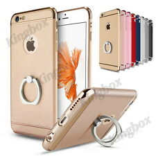 Rotatable Ring Kickstand Ultra-thin Shockproof Case for iPhone 5S SE 6 6S 7 Plus