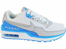 NEW MENS NIKE AIR MAX LTD TRAINERS CASUAL SHOES WHITE / UNIVERSITY BLUE / NEUTRA