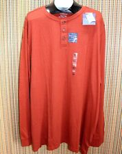 NEW Croft & Barrow Jersey Knit Long Sleeve Henley T-Shirt Multiple Sizes