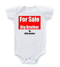For Sale Big Brother By Little Brother Cotton Baby Bodysuit One Piece