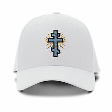 Orthodox Cross Embroidery Embroidered Adjustable Hat Baseball Cap