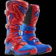 Motocross Track FOX RACING Off-Road COMP 5 MX RIDING BOOT Red & Blue Sizes 8-13