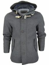 Mens Fashion D-Code Hoodie Jacket 'Wolcot' Lined Wool Aztec