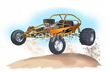 Sand Rail Dune Buggy ATV Short Sleeve T-Shirt sandrail automotive art