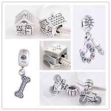 Jaime 925 Solid Sterling Silver Hobbies Series fit European Charm Bead Bracelet