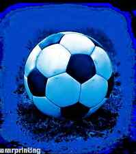 Blue Soccer Ball on Grass T-Shirt, sc50003