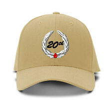 20Th Years Anniversary Embroidery Embroidered Adjustable Hat Baseball Cap