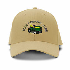 Custom Name Lawn Mover Embroidery Embroidered Adjustable Hat Baseball Cap