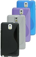 Samsung Galaxy Note 3 N9005 Cover + Screen protector COLOUR & FOIL your choice