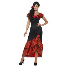 Flamenco Senorita Costume Halloween Fancy Dress