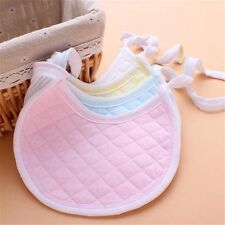 5pcs Baby Boy Girl Newborn Kids Bibs Cotton Burp Saliva Towel Bib Feeding Cloth