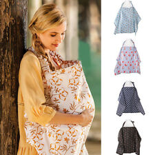 Baby Mum Breastfeeding Nursing Poncho Cover Up Udder Covers Blanket Shawl US
