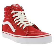 NEW Vans SK8-Hi Shoes Sneaker Skate Shoes Red VN-0TS9GYK Trainers SALE