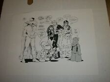 BONE CEREBUS & More! 1993 Jam Sketch Print Smith Doran Sim & More! RARE PRINT