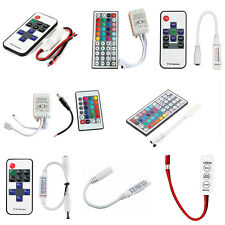 3/10/24/44 Keys  IR Remote Controller For 3528 5050 RGB LED Strip Light 12V JG