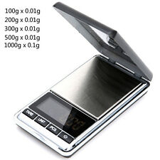 1000g x 0.01g Digital Pocket Gold Jewelry Mini Scale Gram Weight  Balance