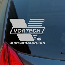 Vortech Superchargers vinyl stickers decals muscle car hot rod Mustang Camero
