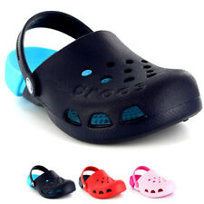 Unisex Kids Crocs Electro Mules Beach Summer Holiday Casual Shoes UK 1-13