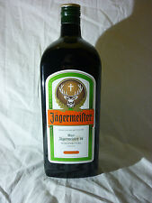 NEW JAGERMEISTER DISPLAY GLASS BOTTLE EXTRA LARGE TRADE PROMO RARE