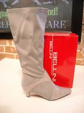 Bellini Estella Grey Stretch & Patent Tall Boots