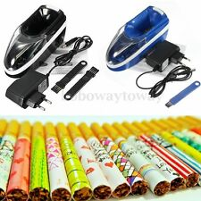 Electric Tobacco Cigarette Automatic Roller Rolling Injector Maker DIY Machine