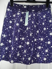 Bnwt new dickins & jones navy mini skirt with moon & bird detail size 12 rrp £75