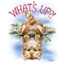 Whats Up Cat   Cat Tshirt   Sizes/Colors