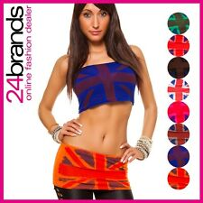 Women's Bandeau Top Top Cropped 2 in 1 Skirt/ top Go Go One size 34/36/38