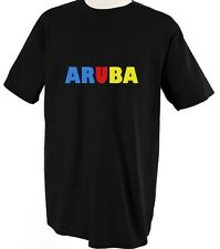 ARUBA COUNTRY FLAG PRIDE Unisex Adult T-Shirt Tee Top